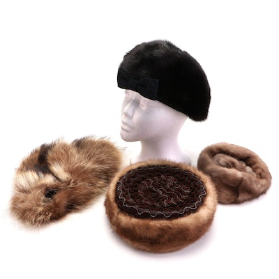 Mr. Marc, Sylvia Hats and Other Mink and Raccoon Fur Hats