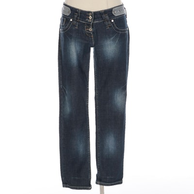 Giorgio Armani Low Rise Straight Cut Jeans