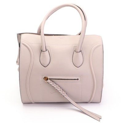Celine Phantom Leather Top Handle Bag