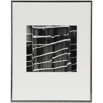 J. Barry Thomson Abstract Silver Gelatin Photograph