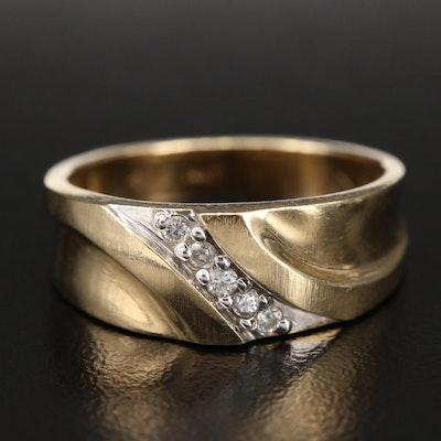 14K 0.11 CTW Diamond Ring