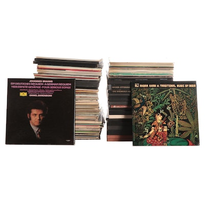 Collection of Classical, Opera and Other Records, Late 20th Century