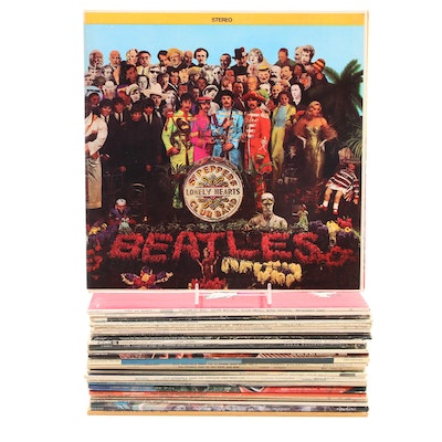 The Beatles, Andy Williams, Elton John and More Vinyl Records