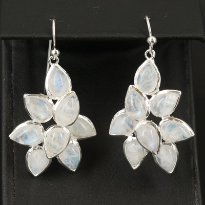 Sterling Moonstone Earrings
