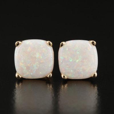 Effy 14K Opal Stud Earrings