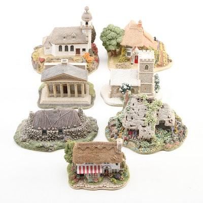 """Lilliput Lane """"Das Gebirgskirchlein"""" Composite Figurine and More"""