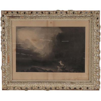 """James Smillie Engraving After Thomas Cole """"The Voyage of Life - Old Age"""""""