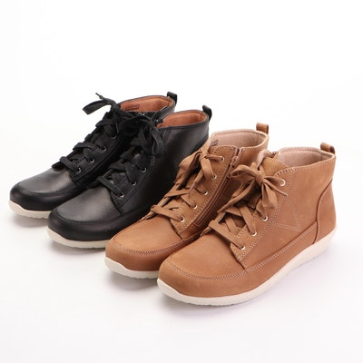Vionic Weather Resistant Shoes in Black and Camel