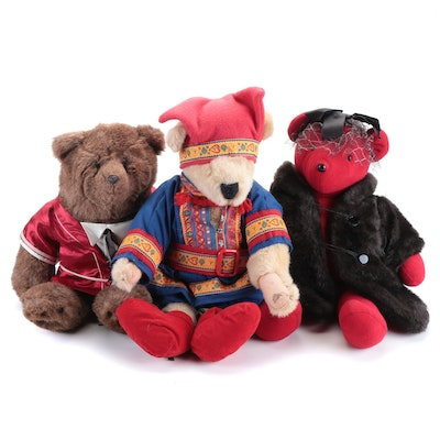 North American Bear Co. and GUND Plush and Jointed Teddy Bears