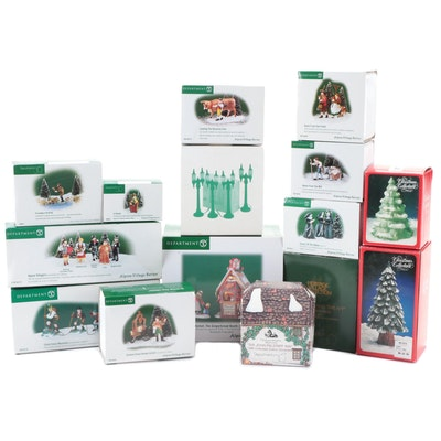 """Department 56 """"Alpine Village Series"""" Resin Figurines and More"""
