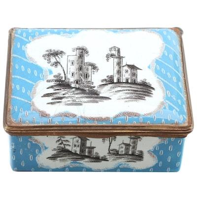 Chinese Cloisonné Trinket Box, 20th Century