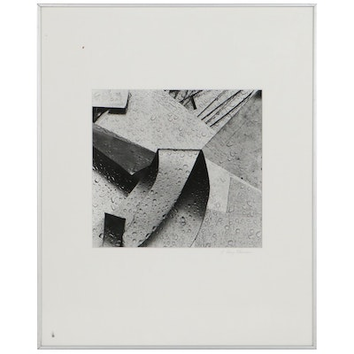 J. Barry Thomson Silver Gelatin Photograph of Architectural Detail
