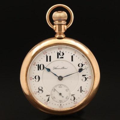 1912 Hamilton Railroad Grade Pocket Watch