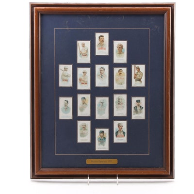"Reproduction 1888 Allen & Ginter ""Baseball Champions"" Tobacco Baseball Cards"