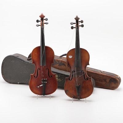 William Lewis and Sons and Antonius Stradivarius Replica 4/4 Violins, Germany