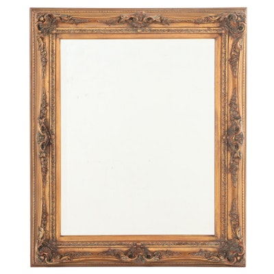 Rococo Style Giltwood and Composition Mirror