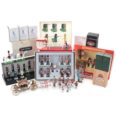 Westair and Stevelyn & Co. Hand-Painted Metal Soldier Figurines and More