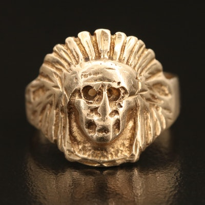 14K Chieftain Ring