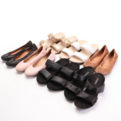 Vionic Leather Sandals, Wedges and Ballet Flats