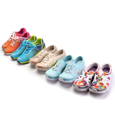 Vionic and Easy Spirit Slip-On and Lace-Up Sneakers