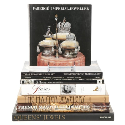 """""""Fabergé: Imperial Jeweller"""" and More Jewelry and Material Reference Books"""