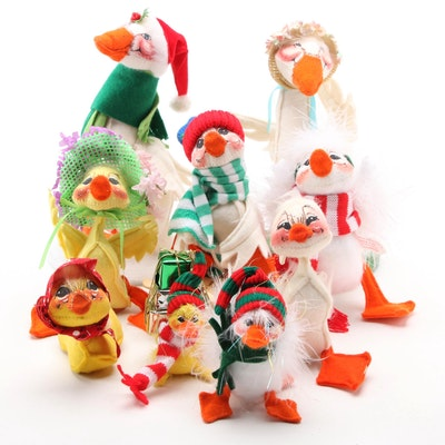 Annalee Mobilitee Goose and Duck Seasonal Dolls