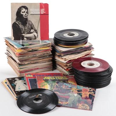 Michael Jackson, Bobby Vinton, REO Speedwagon and Other Vinyl Records