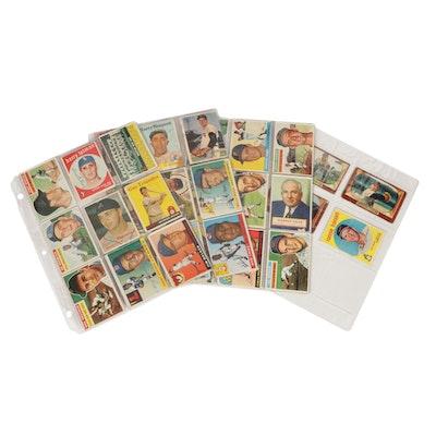 1954–1959 Topps and Bowman Major League Baseball Trading Cards