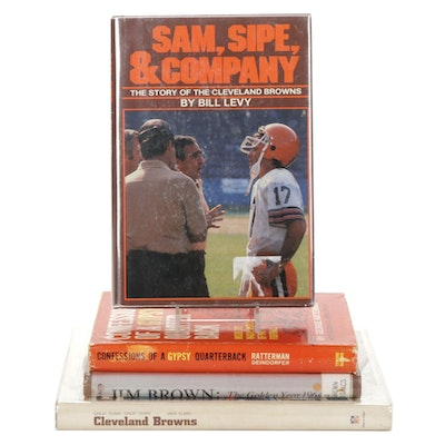 """First Edition """"Sam, Sipe, & Company"""" and More Cleveland Brown Books"""