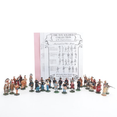 W. Paul LeGreco Toy Soldiers Hand-Painted Metal Miniatures