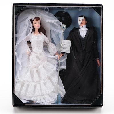 "Mattel ""Phantom of the Opera"" Barbie and Ken Dolls, Exclusively for FAO Schwarz"