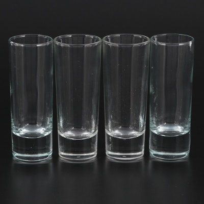 Moser Crystal Shot Glasses with Original Boxes