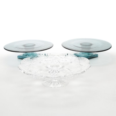 J. G. Durand Crystal and Other Cake Stands