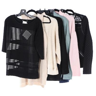 Marla Wynne Sweaters, Leggings and G.I.L.I. Jacket