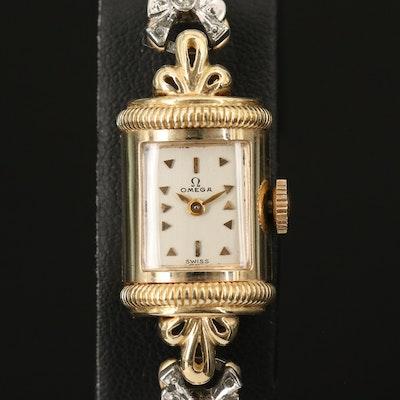 14K Omega Circa 1950 Wristwatch