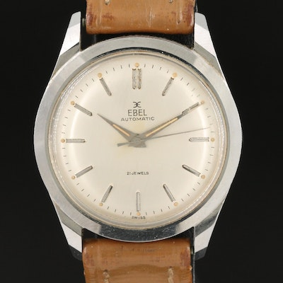 Ebel Automatic Stainless Steel Wristwatch