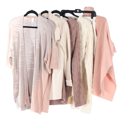 Marla Wynne Sweaters and G.I.L.I. Hooded Sweaters with Faux Fur