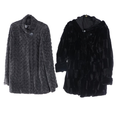 Dennis by Dennis Basso Faux Fur Jacket and Reversible Coat