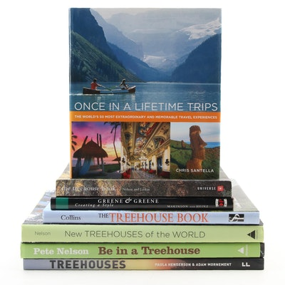 """""""Be in a Treehouse"""" by Pete Nelson and Other Treehouse and Travel Books"""