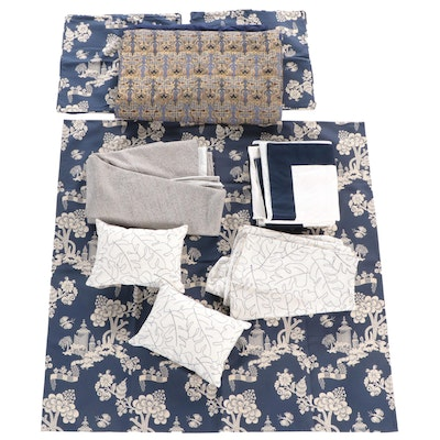 Custom Made Table Linens, Pillow Covers, and Other Home Decor