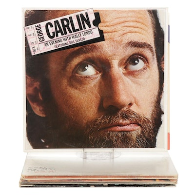 Comedy Vinyl Records Featuring George Carlin, Monty Python and Others