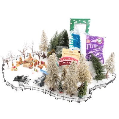 Miniature Christmas and Holiday Village Decor Accessories and More