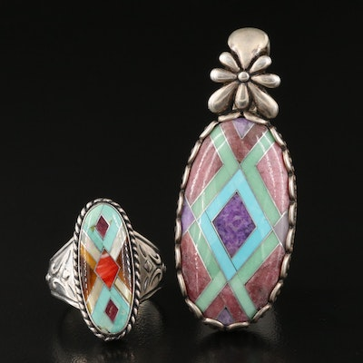 Sterling and Gemstone Relios Jewelry Featuring Carolyn Pollack