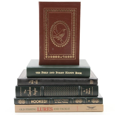"""Easton Press """"The Compleat Angler"""" by Izaak Walton and More Nonfiction Books"""