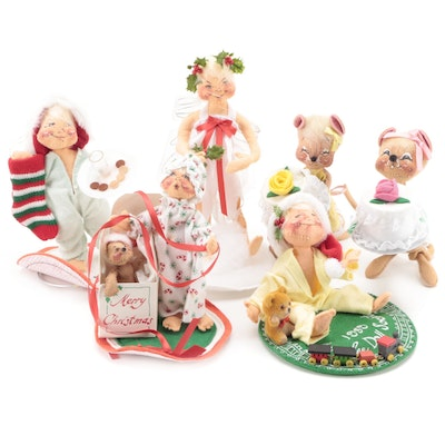 Annalee Mobilitee Christmas Mice, Angels and Other Décor