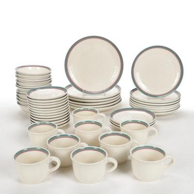 """Pfaltzgraff """"Aura Pink"""" Ceramic Dinnerware"""