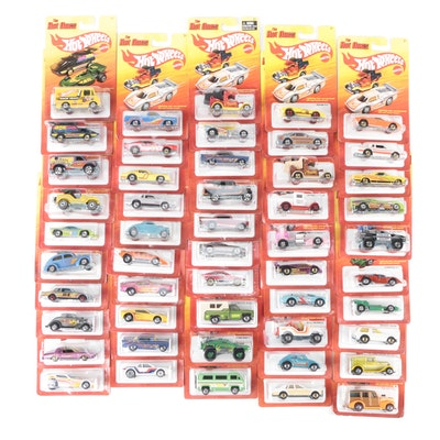 "Mattel Hot Wheels ""The Hot Ones"" 49-Car Packs 1:64 Scale"