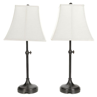 Contemporary Style Metal Table Lamps