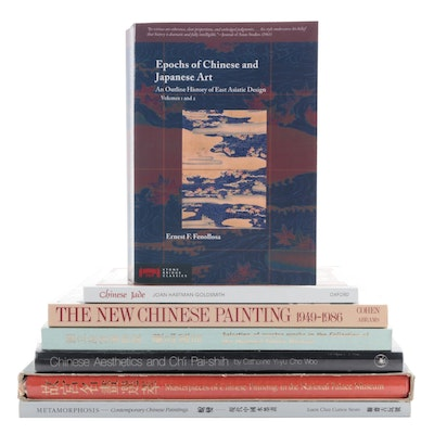 """""""Epochs of Chinese and Japanese Art"""" by Ernest F. Fenollsa and More Art Books"""