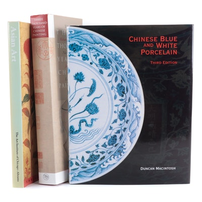"""""""Chinese Blue and White Porcelain"""" by Duncan Macintosh and More Asian Art Books"""